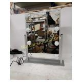 *Rechargeable Lighted Vanity Mirror Hollywood