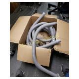 """Box of 10 48"""" long x 1.5"""" Diameter hoses. New"""