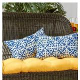 Greendale Home Fashions Outdoor Accent Pillow Set