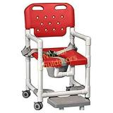 NEW 341.00 PVC Elite Shower Chair Commode with