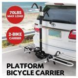 SAN HIMA 2 Bicycle Bike Rack Rear Car Carrier