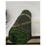 "Artificial turf roll. 21""x 59"""