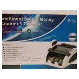 Intelligent Digital money counter &detector. New