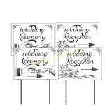VictoryStore Yard Sign Outdoor Lawn Decorations: