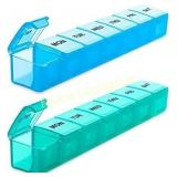 BUG HULL Extra Large Pill Organizer for Travel 2