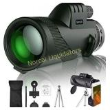 SIHEA Monocular Telescope for Adults Kids, 12X50