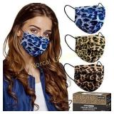 Cheetah Mask (30PCS) Disposable face mask. New