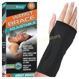 Night Wrist Sleep Support Brace - Fits Both Hands