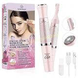Eyebrow Trimmer & Facial Hair Removal for Women,