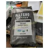 ALLEGRO DARK ROAST GROUND ORGANIC FRENCH