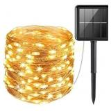 Solar String Lights Outdoor, Mini 33Feet 100 LED