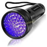 UV Flashlight Black Light , Vansky 51 LED