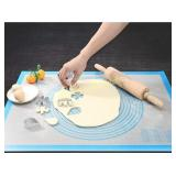 Nonstick Silicone Pastry Mat Extra Large with