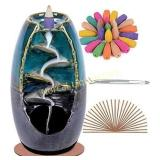 SPACEKEEPER Ceramic Backflow Incense Holder