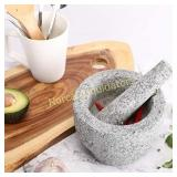 CO-Z Granite Mortar and Pestle Set for Guacamole