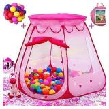 Playz Ball Pit Princess Castle Play Tent for