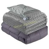 Quility Weighted Blanket for Adults - King Size,
