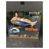 INTEX RIVER RUN 1 FLOAT TUBE WITH CONNECT N