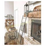 Blanket Ladder - Modern Rustic Decorative Metal