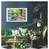 DUN HUANG ART Forest Canvas Wall Pictures -