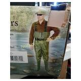 CADDIS SYSTEMS PVC CHEST WADERS SZ 13. LOOKS LIKE