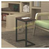 "Sunon C Shape Sofa Side Snack Table,17.3""x 9.8""x"