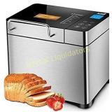 KBS Pro Stainless Steel Bread Machine, 2LB