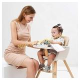 Foho Baby High Chair, Perfect 3 in 1 Convertible