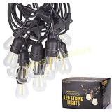 BECCALIGHTING Outdoor String Lights 12v Safe Low