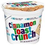 12 Cinnamon Toast Crunch Cereal, 2-Ounce Cups
