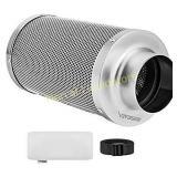 VIVOSUN 6 Inch Air Carbon Filter Odor Control