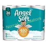 Angel Soft Toilet Paper, 36 Mega Rolls, 36 = 144