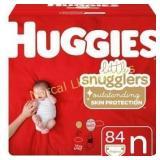 Huggies Little Snugglers Diapers - Newborn (84ct)
