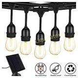 Solar String Lights,S14 LED Outdoor String Light