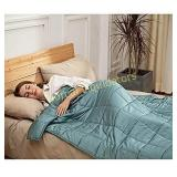 CuteKing Cooling Bamboo Weighted Blanket 80x87