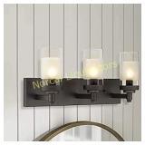 Emliviar 3-Light Bathroom Vanity Light Fixtures,