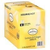 Twinings of London Lemon & Ginger Herbal Tea for