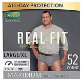 Depend Real Fit Incontinence Underwear for Men,