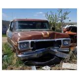 1979 ford bronco, has title,  did not try to