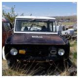 1971 Ford bronco,  has title,  did not try to
