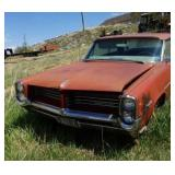 1964 Pontiac Catalina 2+2, has title, did not try