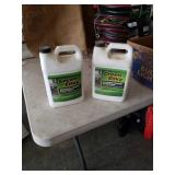 2 gallons Green envy driveway cleaner.