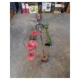 Craftsman 4 cycle gas weed eater with 5 rolls of