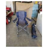 2 rocking camp chairs.