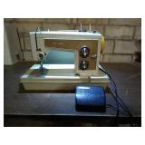 Sears Kenmore brand model 158 sewing machine.