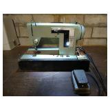 Sears brand Kenmore 158.120 model sewing machine.