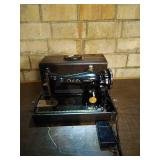 Bel Air Imperial model sewing machine. Unit is