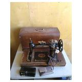 Janome New home brand vintage sewing machine. You