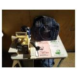 Juki MO-134 model overlook serger. Unit includes