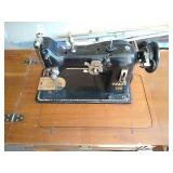 PFAFF 130 sewing machine and sewing table. Unit